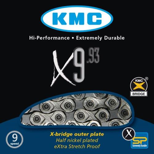 Αλυσίδα kmc X-9 9ταχυτήτων