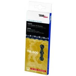 αλυσιδα ποδηλατου TAYA TB 600 7&8speed