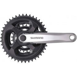 SHIMANO TOURNEY FC-M131 SQUARE TAPER 24/34/42T-6/7/8sp MOUNTAIN Crankset
