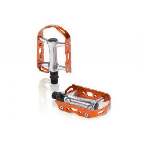 Πετάλια ποδηλάτου αλουμινίου XLC Ultralight Πορτοκαλί