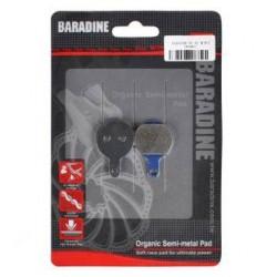Τακάκια δισκόφρενου Semi-Metallic Baradine for Tektro