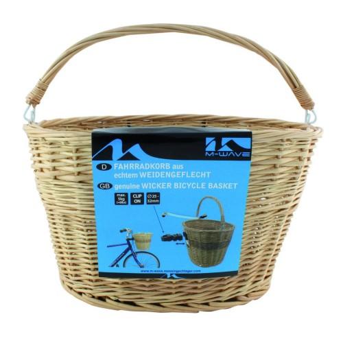 Καλάθι ποδηλάτου M-Wave Wicker Basket