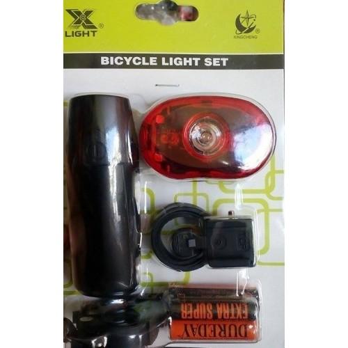 Σέτ Φανάρια Ποδηλάτου X-light 0.5 Watt
