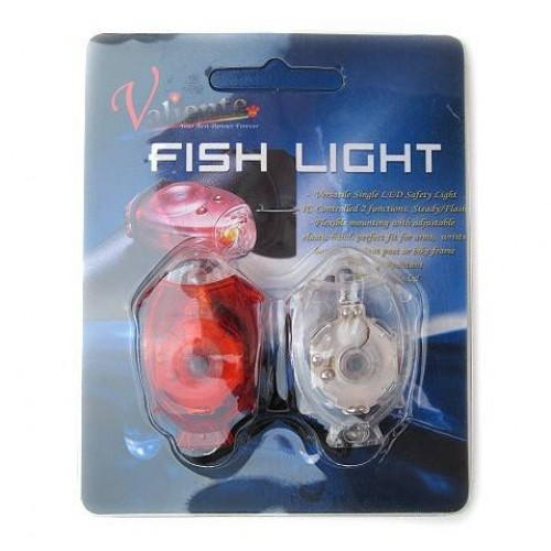 Σέτ φώτα ποδηλάτου Fish light