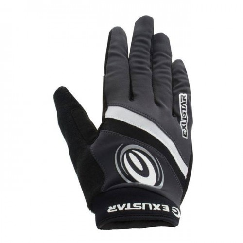 Γάντια ποδηλάτου μακριά με gel Exustar