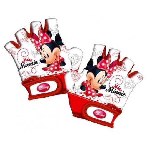 Γάντια ποδηλάτου παιδικά κοφτά Disney Miss Minnie