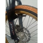 Ποδήλατο Bmx Αλουμινίου Bullet Massive Wide Wheels 20''