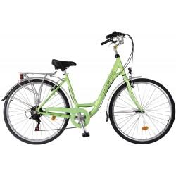 """Ποδήλατο πόλης Orient Voyager 28"""" lady- ΠΡΑΣΣΙΝΟ"""