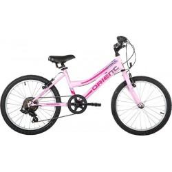 Ποδήλατο παιδικό Orient sprint girl 20'' ασπρο-ροζ