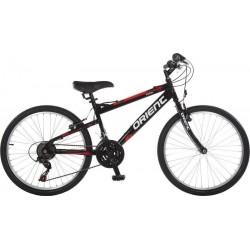 Ποδήλατο παιδικό Orient Excel man 24'2021-μαυρο-κοκκινο