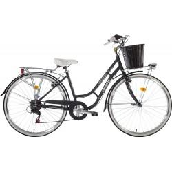 Ποδήλατο πόλης Orient Nostalgie Lady 28' -μαυρο