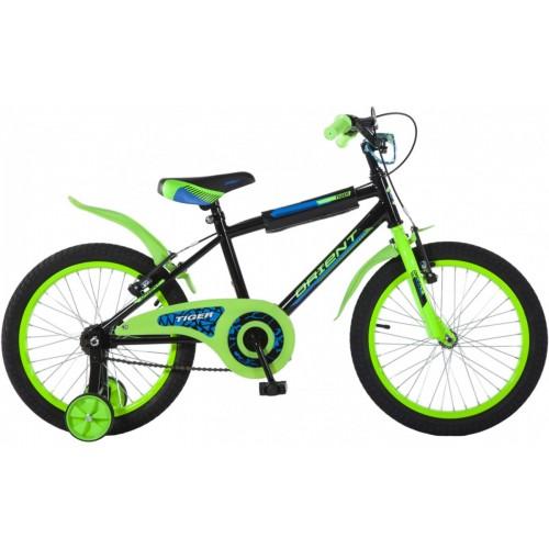 Ποδήλατο παιδικό Orient Tiger 18'' ΠΡΑΣΣΙΝΟ κωδ.151503