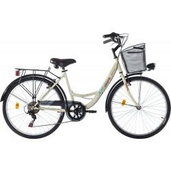"""Ποδήλατο Πόλης Orient City Lady  26""""  6-Speed κωδ. 151090- ΜΠΕΖ"""
