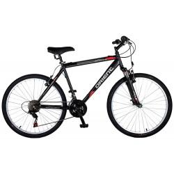 """Ποδήλατο βουνού Orient Luxus 26"""" man-μαυρο-κικκινο"""