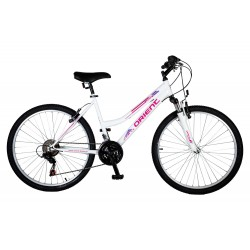 """Ποδήλατο βουνού Orient Luxus 26"""" Lady-λευκο"""