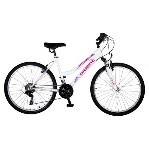 """Ποδήλατο βουνού Orient Luxus 26""""2021 Lady-λευκο"""