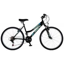"""Ποδήλατο βουνού Orient Luxus 26"""" Lady-μαυρο"""