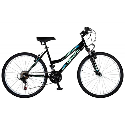 """Ποδήλατο βουνού Orient Luxus 26""""2021 Lady-μαυρο"""