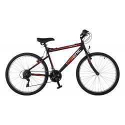 """Ποδήλατο ATB Orient Matrix 26"""" man-μαυρο κοκκινο"""