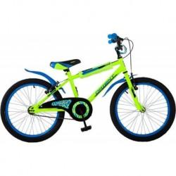 Ποδήλατο παιδικό Orient Tiger 12' κιτρινο κωδ.151002