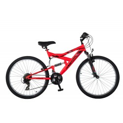 Ποδήλατο παιδικό Orient S-300 suspension 24'-κοκκινο