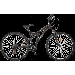Ποδήλατο βουνού Orient HILL 29″ 21sp.- μαυρο-πορτοκαλι