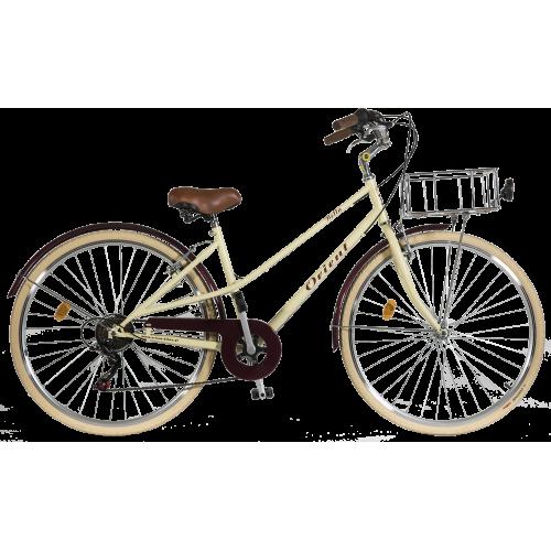 Ποδήλατο πόλης Orient BELLA Lady 28'' κωδ.151513-κρεμ