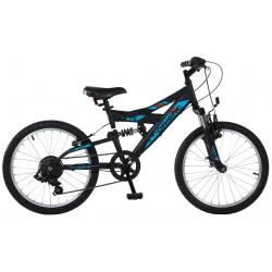 Ποδήλατο παιδικό Orient S-300 suspension 24'-μαυρο