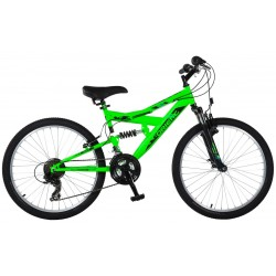 Ποδήλατο παιδικό Orient S-300 suspension 24'-πρασινο