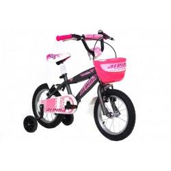"""Ποδήλατο παιδικό Alpina beleno Girls 12"""" 2021 ΓΚΡΙ"""