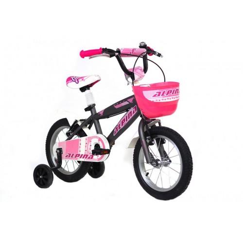 Ποδήλατο παιδικό Alpina Girls 14 2021 ΜΟΒ