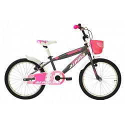 """Ποδήλατο παιδικό Alpina Girls 20"""" 2021 νκρι"""