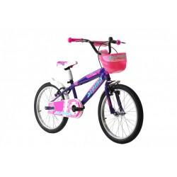 """Ποδήλατο παιδικό Alpina Girls 20"""" 2021 μοβ"""