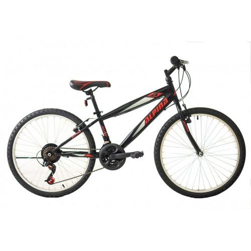 Ποδήλατο MTB ALPINA ALPHA 24″ MAN 21 ΤΑΧΥΤΗΤΕΣ