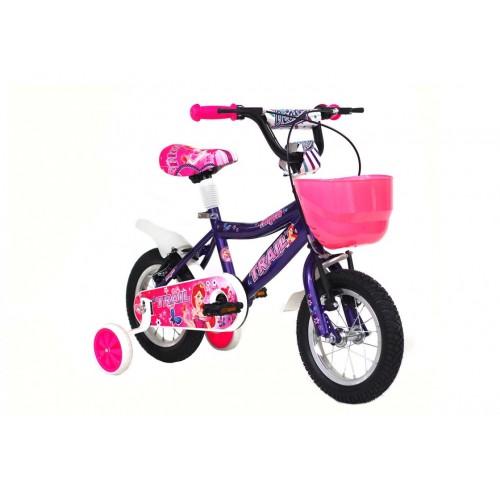Ποδήλατο παιδικό Alpina trail 18'' μοβ