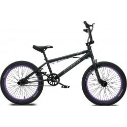 Ποδήλατο Bmx BULLET BORA 20' 2021 BLACK PURPLE