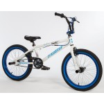 Ποδήλατο Bmx Bullet Bora 20'' Freestyle White-Blue