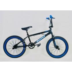 Ποδήλατο Bmx Bullet Bora 20'' Freestyle Black-Blue
