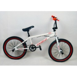 Ποδήλατο Bmx Bullet Bora 20'' Freestyle White-Red