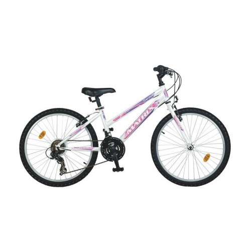 Ποδήλατο παιδικό Matrix Garden 24'' μοβ