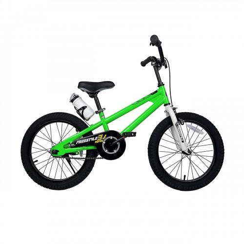 Ποδήλατο παιδικό ROYAL BABY Freestyle 18'' ΠΡΑΣΙΝΟ