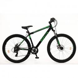 Ποδήλατο βουνού MATRIX 29 MORNING ALLOY FS 21SP. 43/17 BLACK