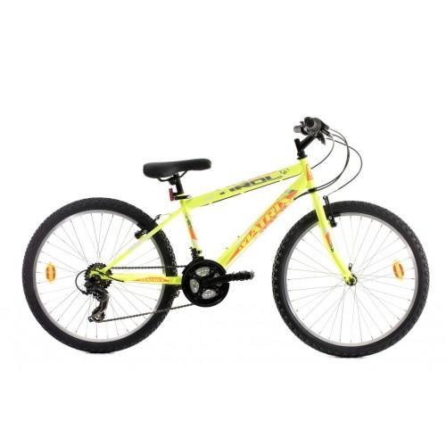Ποδήλατο παιδικό Matrix Tirol 24'' κιτρινο