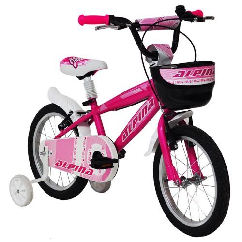 """Ποδήλατο παιδικό Alpina Girls 14"""" 2019 PINK"""