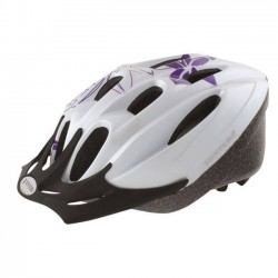 Κράνος ποδηλάτου Ventura με γείσο White Flower