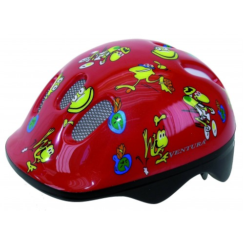 Κράνος ποδηλάτου παιδικό Ventura Frogs