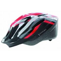 Κράνος ποδηλάτου Ventura Youth Cycle Μαύρο-Κόκκινο