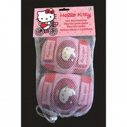 Επιγονατίδες & επιαγκωνίδες ποδηλάτου Hello Kitty