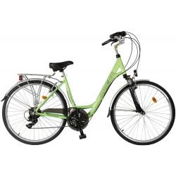 """Ποδήλατο πόλης Orient Voyager 28""""Suspension 21 spint  lady- ΠΡΑΣΣΙΝΟ"""