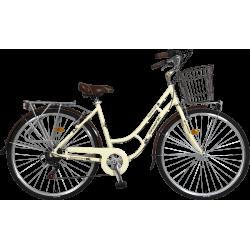 Ποδήλατο πόλης Orient Nostalgie Lady 26''-μπεζ
